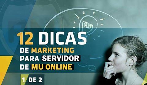 12 dicas Marketing para Mu Online